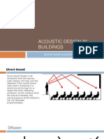 ACOUSTIC DESIGN IN BUILDINGS