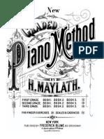 Maylath New Grade Piano Method First Grade Bk1