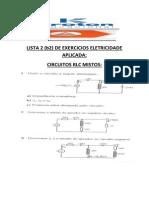 Lista de Exercicios Eletricidade Aplicada 2 Para b2