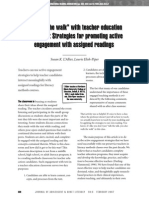 strategies for promoting active engagement with assigned readings