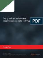 KYC Portability Infosys