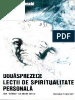 Douasprazece Lectii de Spiritualitate Personala - Kevin J. Todeschi