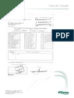 Formulário de Carta de Correção para Nota Fiscal Mercantil (Fiscal)