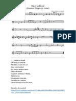 Natal No Brasil - Letra e Pauta - Voz e Flauta
