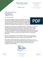 Coburn NDAA Public Lands Letter