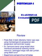 Demand and Supply Elasticity