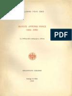 Manuel Antonio Ponce