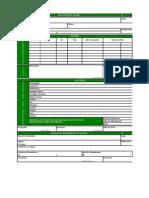 Formulário de Relatório de Viagem (Contabilidade)