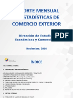 1. Reporte Mensual Estadística CE. Noviembre 2014