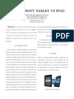 Tablet vs iPad