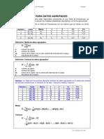 Medidas Descriptivas Datos Agrupados