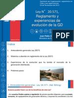 Ministerio de Energía, Ley 20.751 Reglamento GD