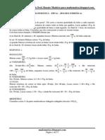 Prova Matemática Epcar 2012 Resolvida