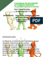 Expo de Ética y Deontología