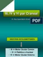 Pares Craneales III IV y VI