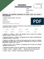 taller 1 de reacciones de transferencias de electrones
