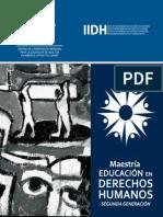 Folleto Maestria Edh 2012 Copy