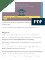 WordPress Ile Kapalı Gizli Topluluk Ve Tarikat Kurmak