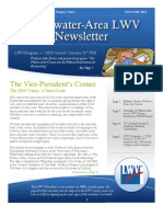 LWV Newsletter January 2010