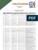 Mostra da Pos graduação UFMT