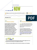 December 2014 NGSS NOW Newsletter