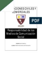 Obligaciones - Responsabilidad Civil