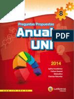 ANUAL UNI 2014 ALGEBRA