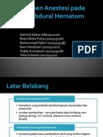 Subdural Hematom