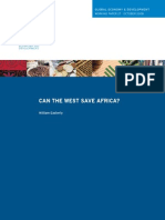 Can the West Save Africa