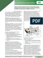 G1 Monitoring and Evaluation Principles