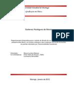 Espectroscopia fotoacústica para o estudo da difusão de um extrato de Caesalpinia peltophoroides Benth. em feridas cutâneas e das mudanças estruturais de tecidos do pulmão infectados por Paracoccidioides brasiliensis