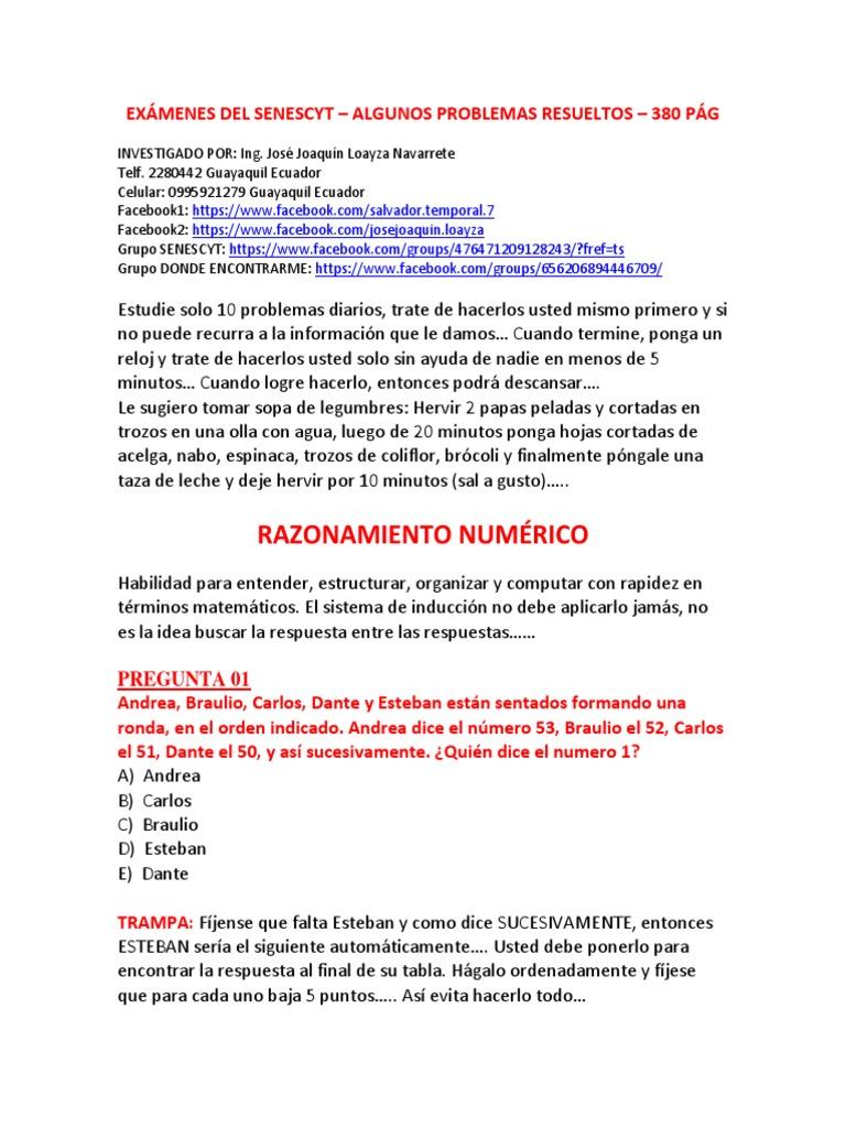 Examen Resuelto Del Senescyt 2e323cbfdb7