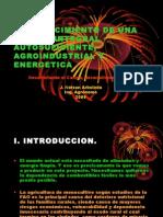 Establecimiento de un modelo de Granja Integral Autosuficiente, Agroindustrial y Energetica