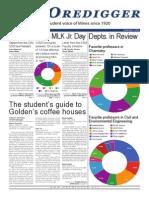 The Oredigger Issue 4 - December 1st, 2014