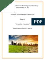 Ensayo El Cambio Climatico
