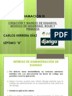 Interfaz Admin de Django