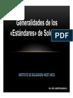 7. Generalidades de Los Estándares de Soldadura