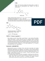 Listas de Exercicio Quimica e Biologia