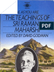 Spiritual eBook Nondual Ramana Maharshi Be as You Are Complete