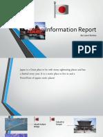 Japan Information Report Finshed Product