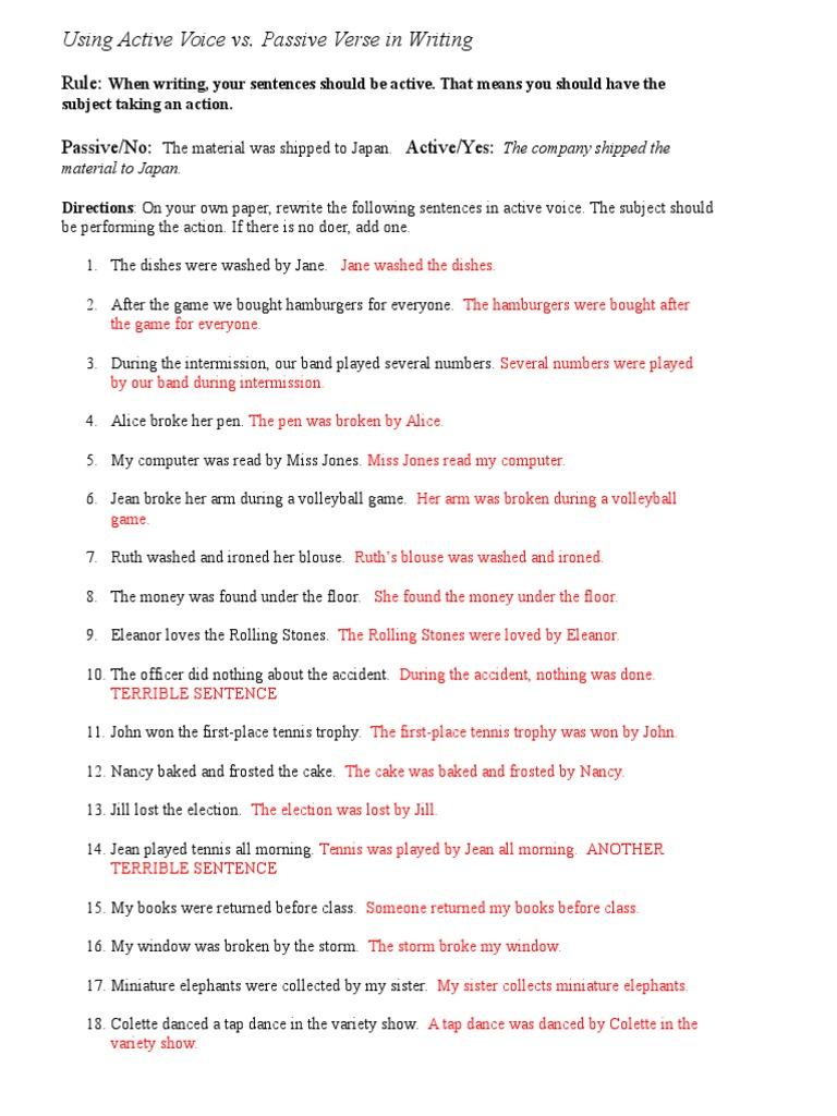 Wednesday Worksheet Key | Leisure