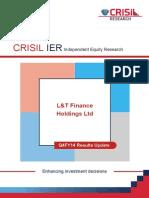 Lt-financeholdings Crisil 2014 Analysis