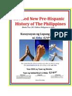 Revised New Pre-Hispanic History of Philippines