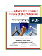Revised New Pre-Hispanic History of Philippines