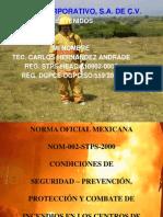 capacitacion Brigadas Contra Incendio