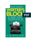 Conquering Writer's Block and Summoning Inspiration