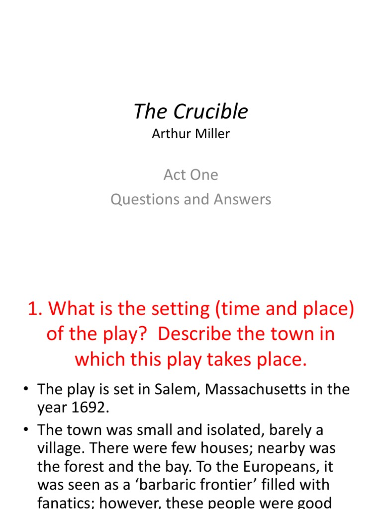 a discussion on the theme of witch hunts in the book the crucible by arthur miller The crucible by arthur miller is a play which is a fitting example of this statement this is due to the multiple references miller has made to both the salem witch trials of 1692 and to the mccarthy era, the period in which the play was written.