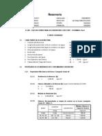 Cálculo Estructural de Reservorio CHICCHUY