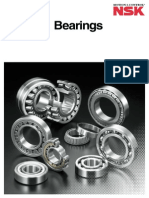 NSK Catalog E1102f Rolling Bearings
