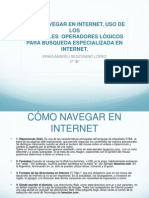 COMO NAVEGAR EN INTERNET, USO DE LOS PRINCIPALES OPERADORES.pptx